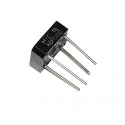 MOSTEK PROSTOWNICZY KBPC1010/BR11010A 1000V RASTER 12,5mm