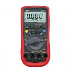 MIERNIK CYFROWY MULTIMETR UT61C Temperatura RS232 UNI-T UT-61C NOWOŚĆ !!!